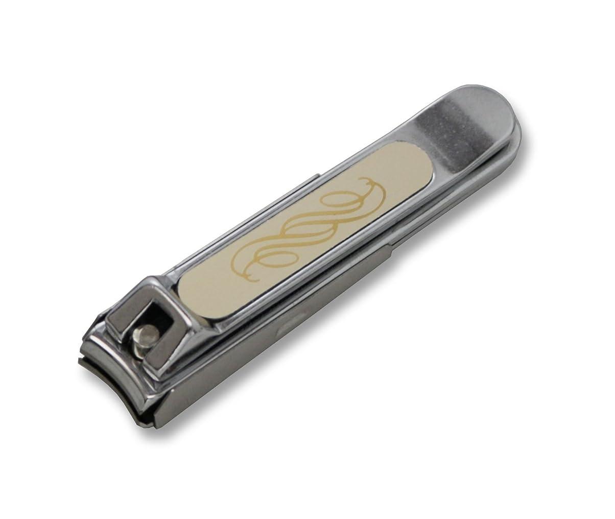 繕う彼のエクステントKD-014 関の刃物 ニューチラーヌ爪切 中 ゴールド