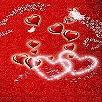 バレンタインデー テーマ ビデオ スタジオ 背景 コンピュータ 印刷写真背景 写真背景幕 CP_G-122