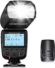 Powerextra LCD Display Flash Speedlite, 2.4G Wireless Flash Trigger Transmitter Kit for CA Nikon Pentax Panasonic Olympus ...