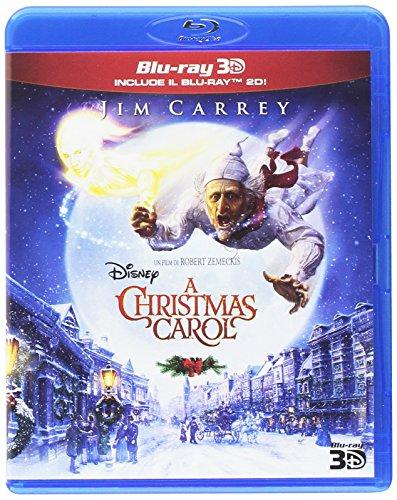 a christmas carol 1bd + 1bd 3d (2dischi) (blu-ray 3d) [Italia] [Blu-ray]