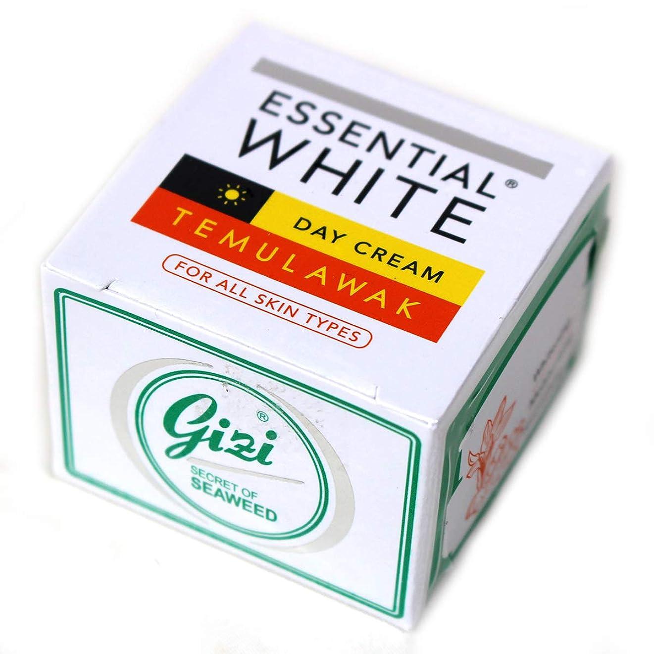 露骨なさせる対ギジ gizi Essential White 日中用スキンケアクリーム ボトルタイプ 9g テムラワク ウコン など天然成分配合 [海外直送品]