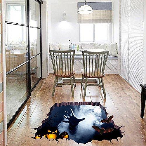 Pegatina- sticker mural 3D para Halloween