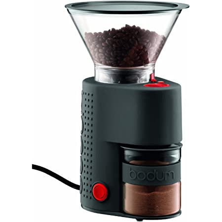 Bodum BISTRO Burr Coffee Grinder, 1 EA, Black