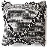 L'ORIENT Interior Marokkanischer Zierpolster schwarz weiß | Textile Zierkissen aus Marokko