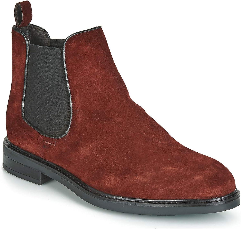 André ELEGANT Stiefelletten Stiefel Herren Bordeaux Stiefel  | Ausgezeichnet