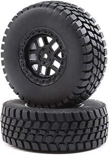 Losi 1/10 Alpine Front/Rear 2.2/3.0 Pre-Mounted Tires, 12mm Hex (2): Baja Rey, LOS43025