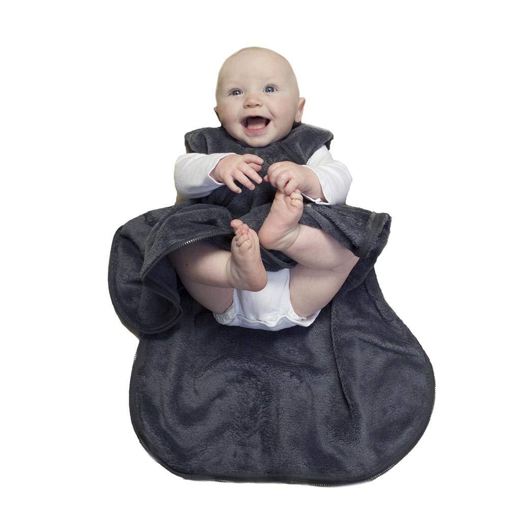 In stock GUNAMUNA Unisex Baby Limited time trial price Fleece Wearable Bag - 1.6 Blanket Sleeping