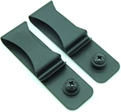 Heezy Gun Holster Black Steel Spring Clip with Hole/Hardware