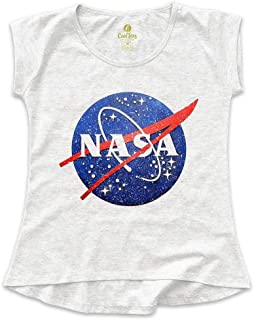 Camiseta T-shirt Feminina Geek Cool Tees Nasa Vintage