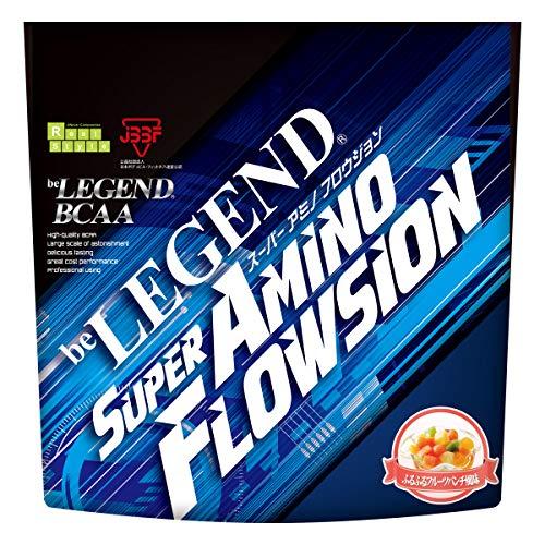 ビーレジェンド BCAA + グルタミン + シトルリン SUPER AMINO FLOWSION ふるふるフルーツパンチ風味【420g】