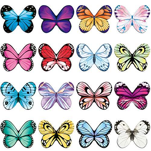 Segnalibro magnetico, 16 pezzi, a forma di farfalla, per studenti, idea regalo, segnalibro magnetico per bambini, per leggere, per frigorifero