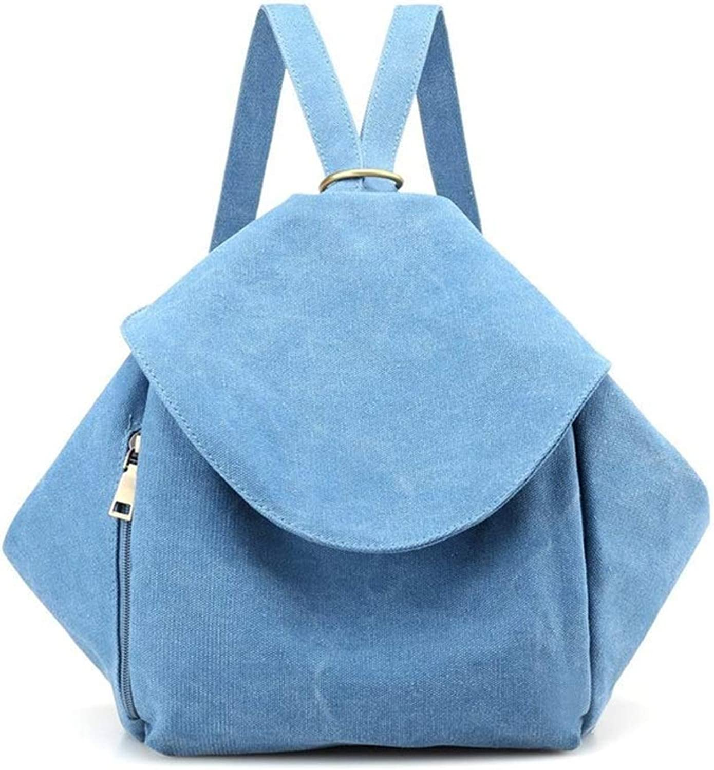 NSHUN Satchel Purse Handbags and Backpack Style Two Uses Shoulder Bags for Women LargeCapacity Tote PU Leather (color   blueee)