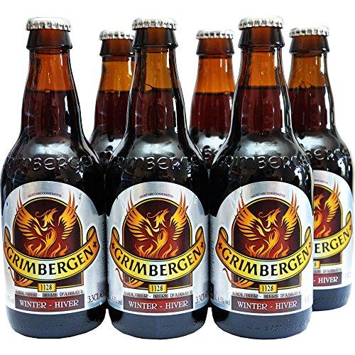 Belgisches Bier Grimbergen Winter 6x330ml 6,5%Vol.