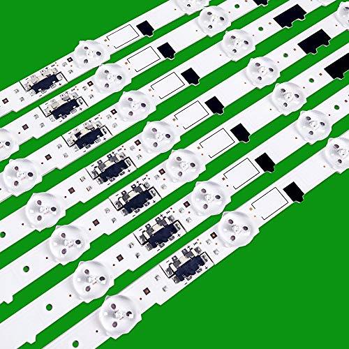 Tira de retroiluminación LED 13 para Samsung 40 'TV D2GE-400SCA-R3 UA40F5500 2013SVS40F UE40F6400 D2GE-400SCB-R3 UE40F5000 UE40
