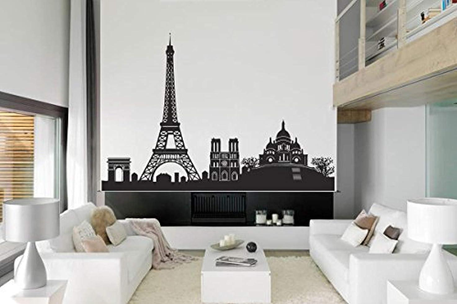 France Decor Paris French Food Eiffel Tower Wall Decal Window Sticker Design ad 1794