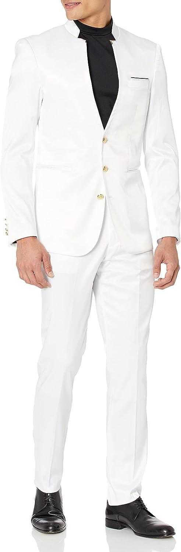 Blu Martini 2 Pc. Solid Men's Suit