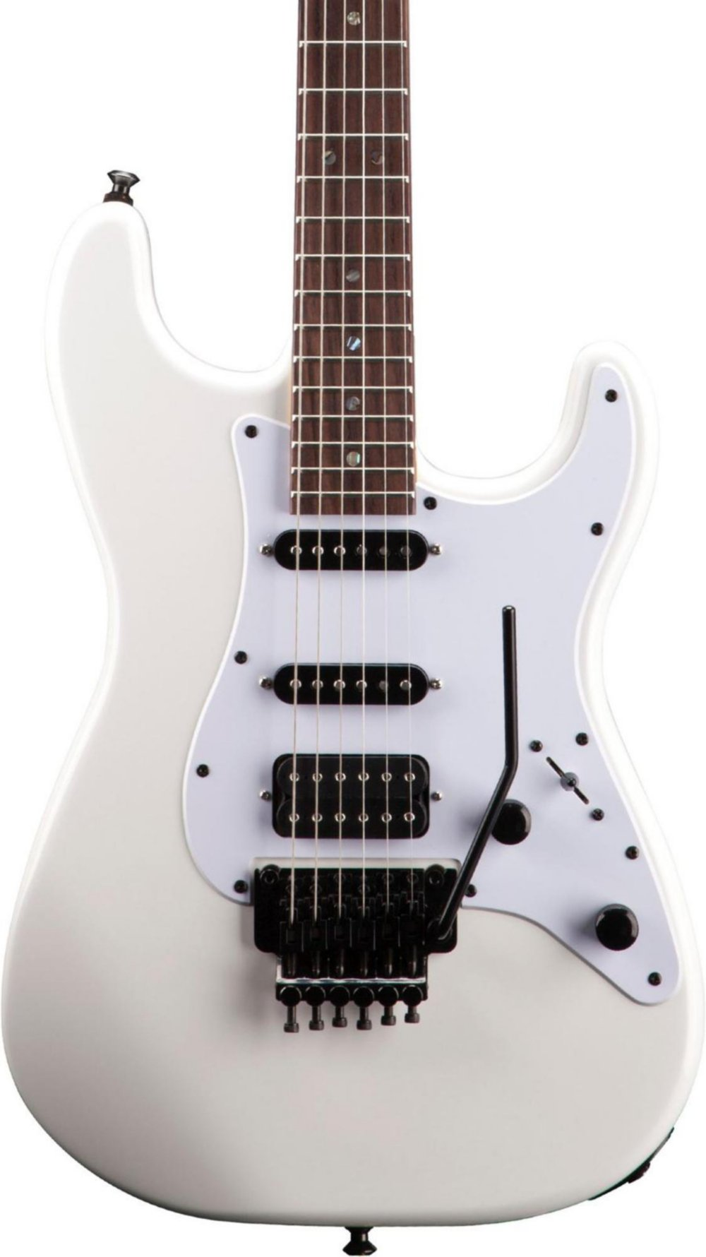 Cheap Jackson Adrian Smith Signature SDX Snow White 6-String Electric Guitar w/ Maple Fingerboard Black Friday & Cyber Monday 2019