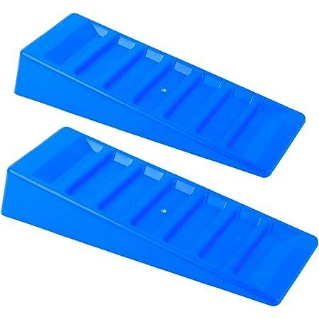 Ausgleichskeile Stufenkeile 3t 2er Set Blau Für Wohnwagen Und Wohnmobil Auto