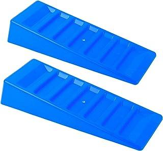 Ausgleichskeile Stufenkeile 3t 2er Set blau für Wohnwagen und Wohnmobil