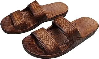 HawaiiImperial Sandals Hawaii Brown or Black Jesus Sandal Slipper for Men Women and Teen Classic Style