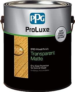 PPG ProLuxe SRD Wood Finish, 1 Gallon, 072 Butternut