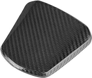 Terisass Motorcycle Fuel Gas Oil Tank Cap Cover Carbon Fiber Fuel Tank Cap Sticker for Honda PCX 125 150 PCX125 PCX150