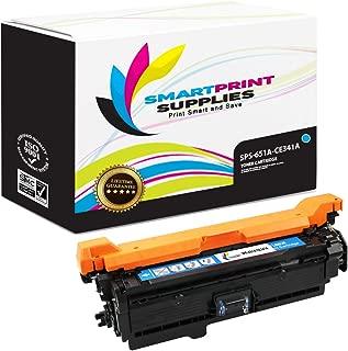 Smart Print Supplies Compatible 651A CE341A Cyan Toner Cartridge Replacement for HP Color Laserjet MFP M775 M775D, Enterprise 700 M775DN M775F M775Z+ Printers (16,000 Pages)