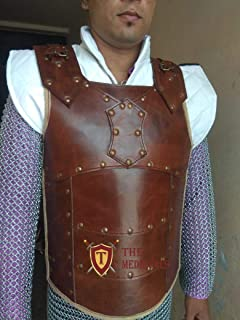 leather fencing vest