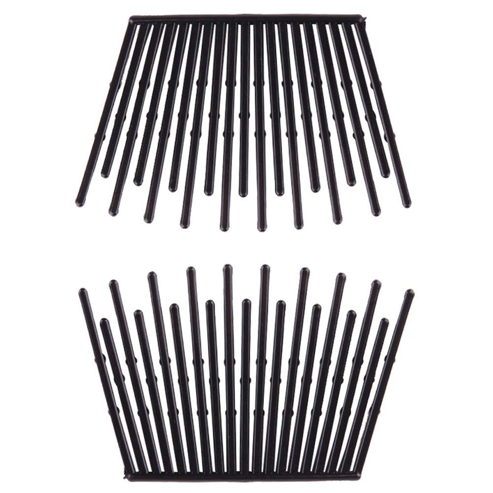 6 Pairs Interlocking Hair Combs We Trust OFFer at cheap prices Comb Clamps Double Side Jaw