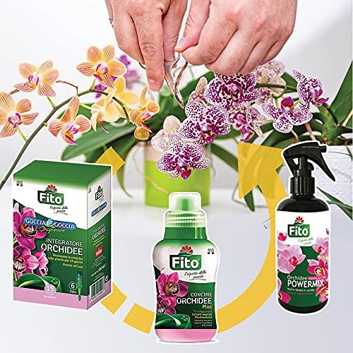 Kit Completo Cura Orchidee - Concime Liquido + Goccia a Goccia + Spray Per La Cura Delle Tue...