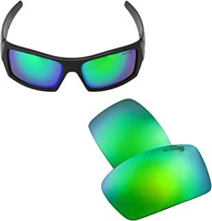 Walleva Replacement Lenses for Oakley Gascan Sunglasses - Multiple Options Available