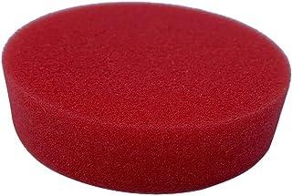 キッチン スポンジ 丸型 シンク 掃除 食器洗いスポンジ カラー (レッド)
