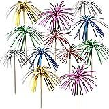 150 Stück Folienrüschen, Feuerwerk, Cupcake-Aufsatz, Zahnstocher, Sandwich-Vorspeisen,...