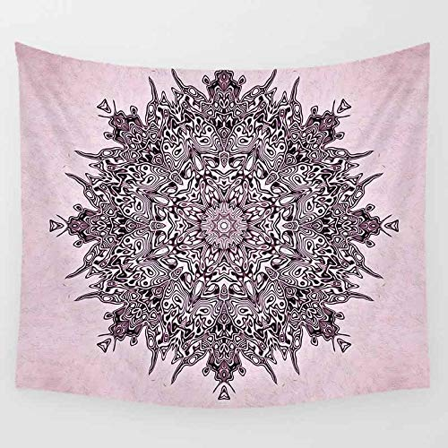 KHKJ Mandala Tapiz de Pared Belleza HD Tapiz Flores Gran Tapiz para Colgar en la Pared decoración del hogar Tapiz de Pared A9 150x130cm