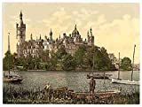 Photo The ducal castle I Schwerin Mecklenburg Schwerin A4