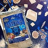 Harina de avena, Oatking, 1kg, OFERTA CUPON-5% !! Harina Integral, harina de sabor, ideal para tortitas, batidos, bizcochos y magdalenas, American Suplement, (CHOCO BLANCO CON GOFRE)