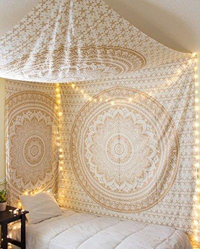 INDIENNE MANDALA Tapisserie Hippie Reine Wall Hanging Bohemian Decor Plaid Couvre-lit