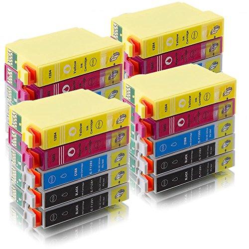 ms-point® 20 kompatible Druckerpatronen T1281 T1282 T1283 T1284 für Epson