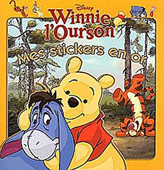 Paperback Winnie, Mes Stickers en or [French] Book