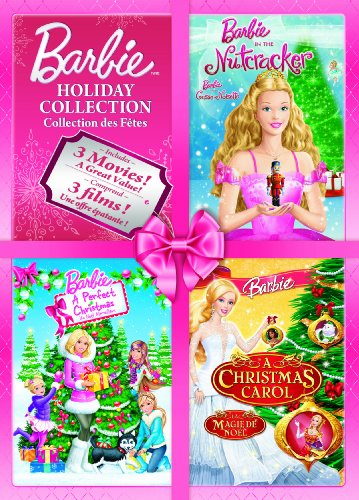Barbie Holiday Collection (Barbie in the Nutcracker / Barbie A perfect Christmas / Barbie: A Christmas Carol)