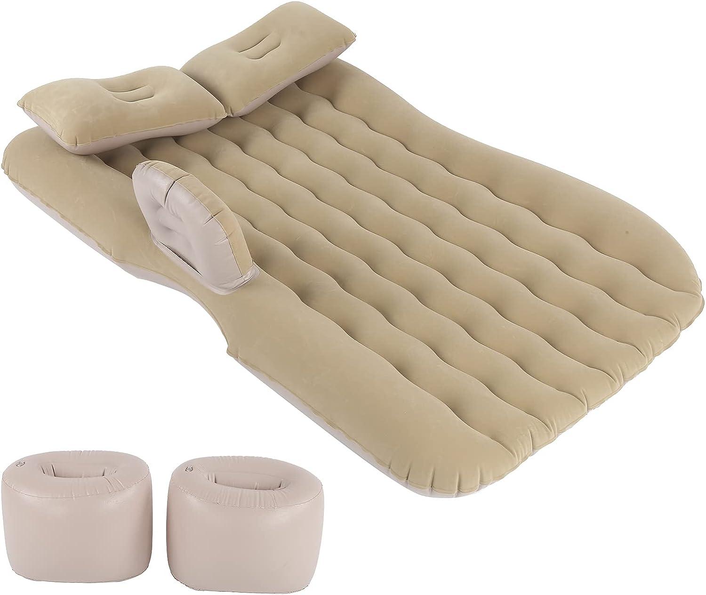 Estink Camping Bargain sale Air Bed Car Mattress Beiges Charlotte Mall SUV PVC Flat