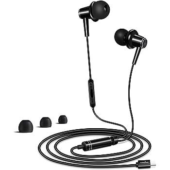 Écouteurs USB Type C Intra Auriculaires uniquement pour Huawei P30P30 Pro, P20P20 Pro, Mate 20Mate 20 ProMate 20 XMate 20 RS, Mate 10Mate 10