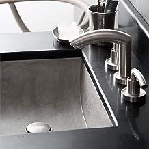 Native Trails NSL2014-A Cabrillo Native Stone Dual-Mount Bathroom Sink, Ash