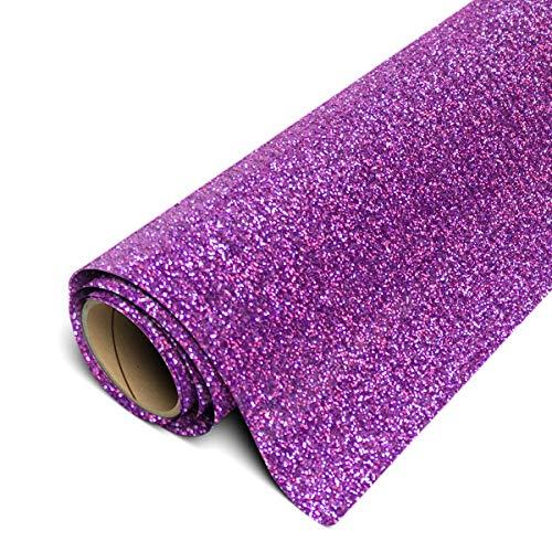 Siser Glitter HTV 12'x3ft Roll (Lavender) Iron on Heat Transfer Vinyl