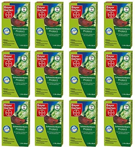12 x 750 g Bayer Schneckenkorn Protect Schneckenmittel