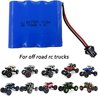 4.8V 700mAh Ni-Cd AA Rechargeable Battery Pack for Off Road RC Cars