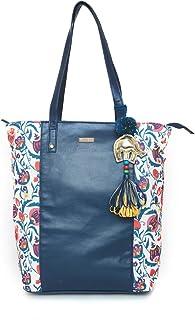 Bohemian Branches Tote Bag - Blue