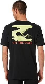 Vans Men's Cliffside Mens Tee Crew Neck Short Sleeve Cotton Black