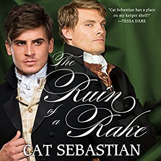 The Ruin of a Rake audiobook cover art
