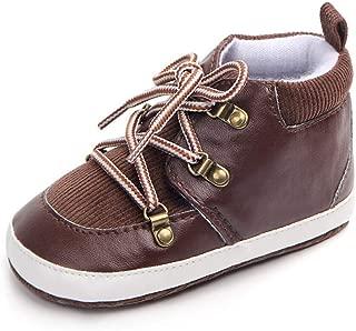 BYSTE Bambino Bambini Tinta Unita Scarpe Piatte Scarpe da Ginnastica Casual PU Scarpe Pigre Ragazzi Ragazze Scarpe da Ginnastica Scarpe Sportive Sneaker